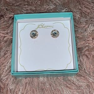SOLD Schuyler earrings Rose gold tone